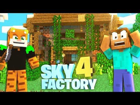 WAS HAT ER GETAN?! - Sky Factory 4 #07