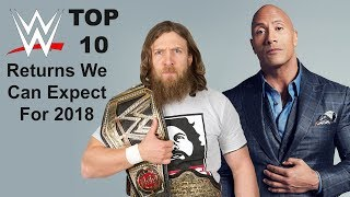 10 WWE Returns We Can Expect For 2018