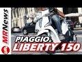 NOVO PIAGGIO LIBERTY 150 NO BRASIL - MRNews 28