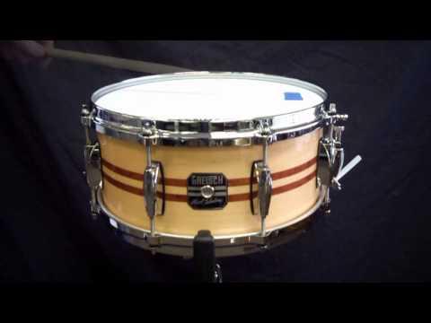 Gretsch Mark Schulman Snare Drum Demo