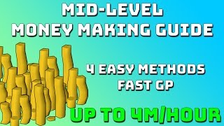 Mid Level Money Making Guide [Runescape 3] Up to 4m/hr