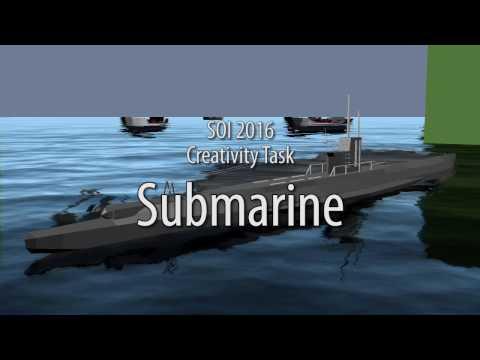 SOI 2017: Creativity Task Submarine