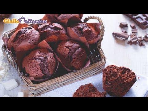 Muffin Al Cioccolato Ricetta In 1 Minuto Youtube