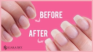💅🏼 Long & Healthy Nails l How to Grow Your Natural Nails Fast & Easy with Dip Powder 😍