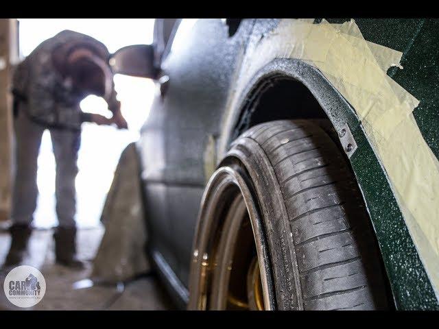 Wide fender flares work - Volkswagen Golf MK5