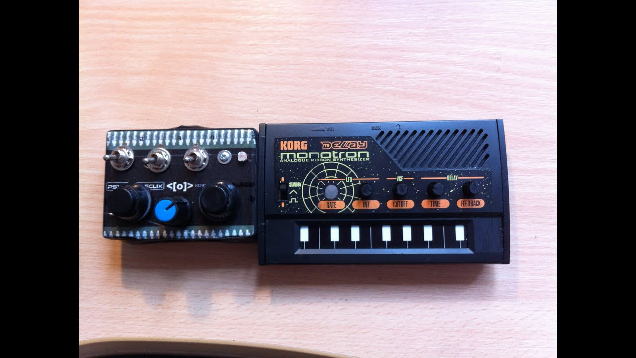 Circuit Bent Korg Monotron Delay By Psychiceyeclix Circuitbending Circuitbent Noise Toys Cementimental