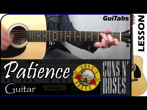 How to play Patience - Guns N' Roses 🔫🌹 / Guitar Tutorial 🎸