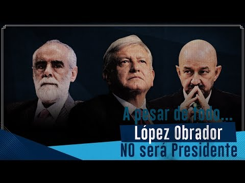 De seguir como vamos… López Obrador NO será Presidente