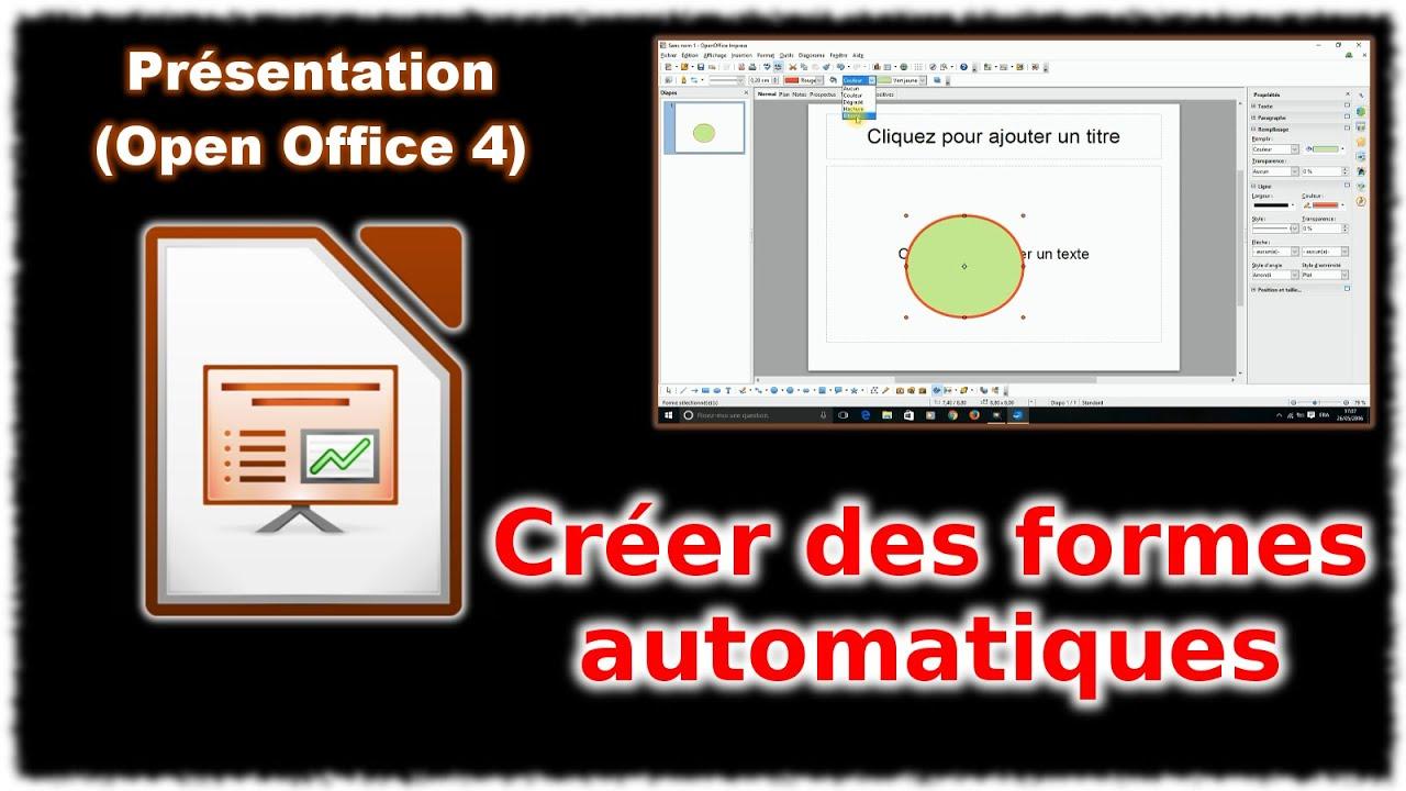 Tuto Impress 4 Les Formes Automatiques Open Office