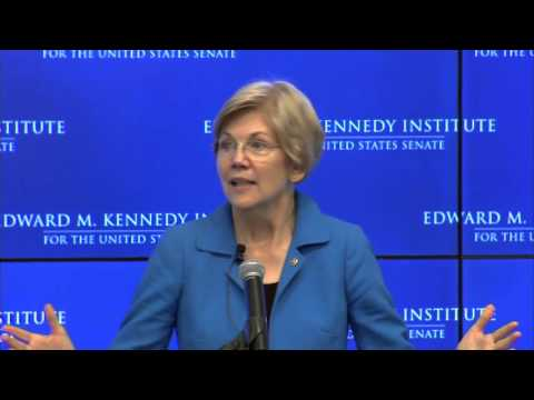 Senator Elizabeth Warren Discusses Gov Role In Racism