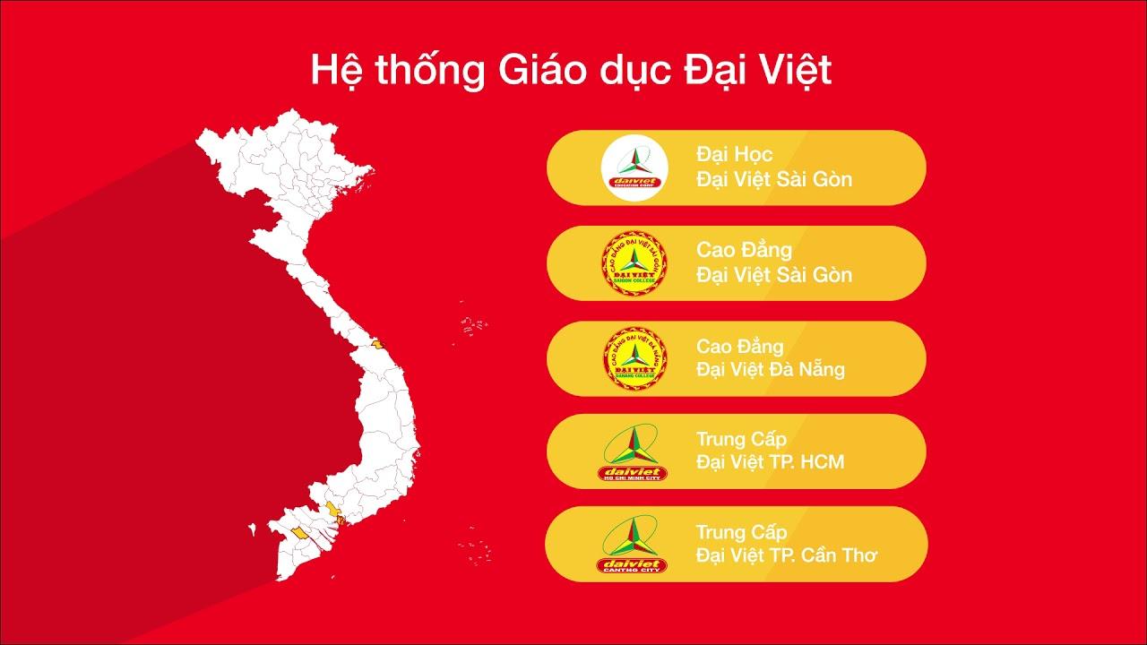 Giới thiệu Trường Cao đẳng Đại Việt Sài Gòn 2019
