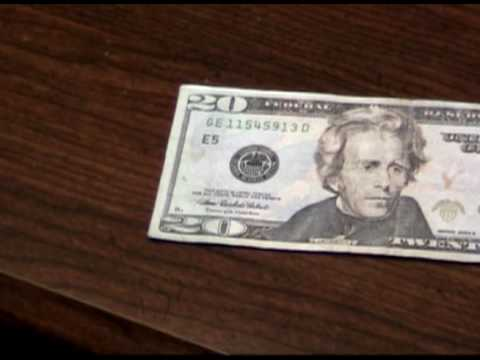 how to make fake 20 dollar bills