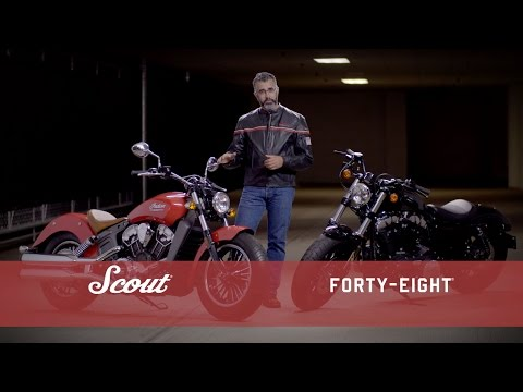 Indian Scout vs. Harley-Davidson Forty-Eight - Indian Motorcycle