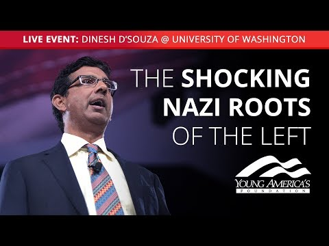 Dinesh D'Souza LIVE at University of Washington