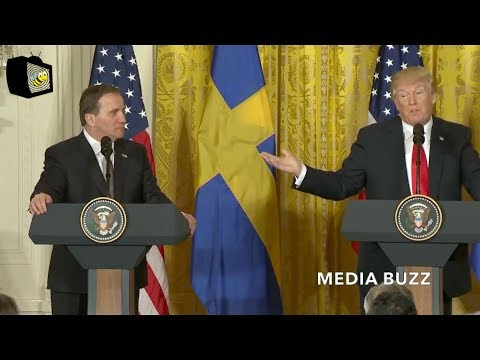 Trump Joint Press Conference with Sweden Prime Minister 3/6/18