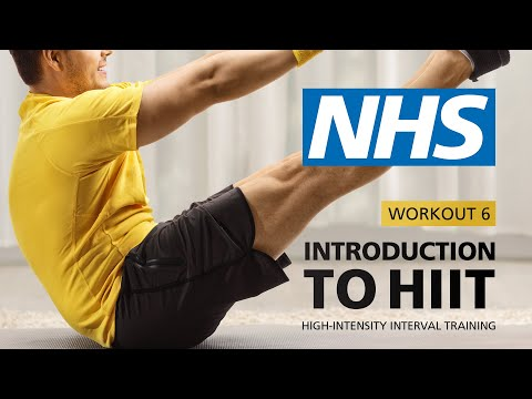 Introduction to HIIT - Workout 6 | NHS