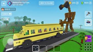 Block Craft 3D: Building Simulator Games For Free Gameplay#1674 (iOS & Android)  Siren🔊 Head Attack screenshot 5