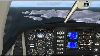 Vatsim World Discovery Flights - Unst to kirkwall EGPA