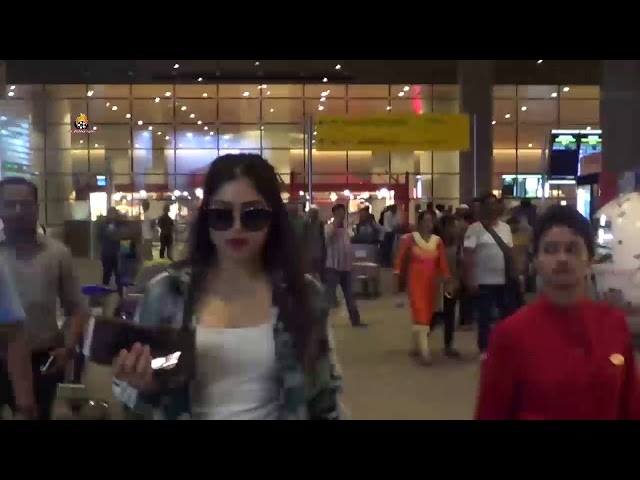 Bhoomi Pednekar spotted at airport