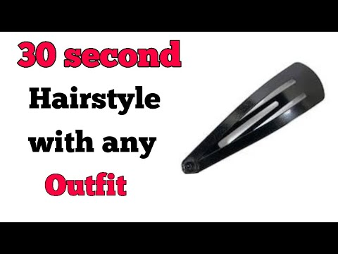 try-this-30-second-hairstyle-with-any-outfit/easy-hairstyle-for-saree,kurta,dress,jeans.