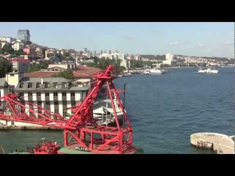 The Port of Istanbul, Turkey - 1st August, 2012 (HD)