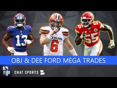 BREAKING: Odell Beckham Traded To Cleveland Browns & Dee Ford Traded To 49ers - Trade Details