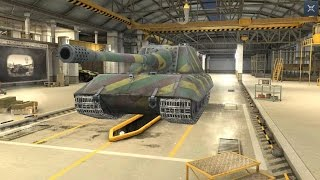 World Of Tanks Blitz Game Play (Jagdtpanzer E100) Last German TOP
