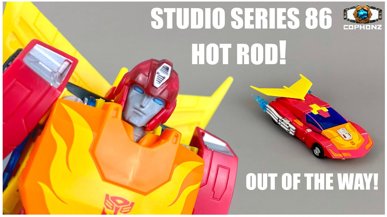 No Words Review of Studio Series 86 Voyager Hot Rod by cophonz