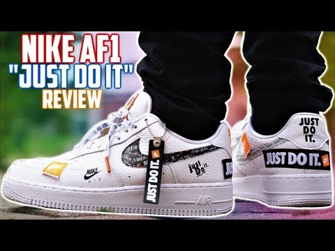 Nike Air Force 1 Just Do It Review And On Feet