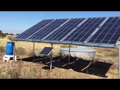 5 Panel Solar automated Water Farm Distilitaion  with Rain Harvestng