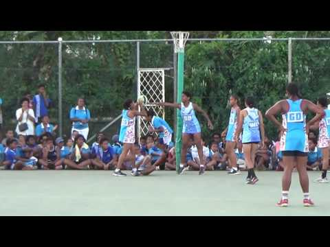 2015 FIJI PRIMARY SCHOOL NETBALL UNDER 13 FINAL..Suva vs Nasinu (2nd half)