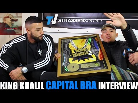 CAPITAL BRA & KING KHALIL Interview: Makarov Komplex, Gzuz, Ufo361, Farid, KC, AK, LX, Bonez, Pi