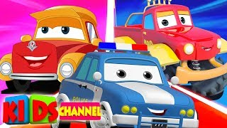 Cars Cartoon | Street Vehicle Videos for Babies | Live Stream