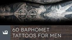 60 Baphomet Tattoos For Men