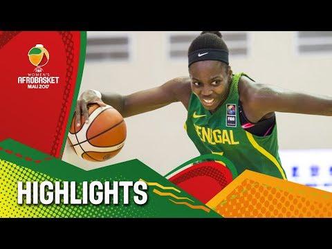DR Congo v Senegal - Highlights - FIBA Women's AfroBasket 2017