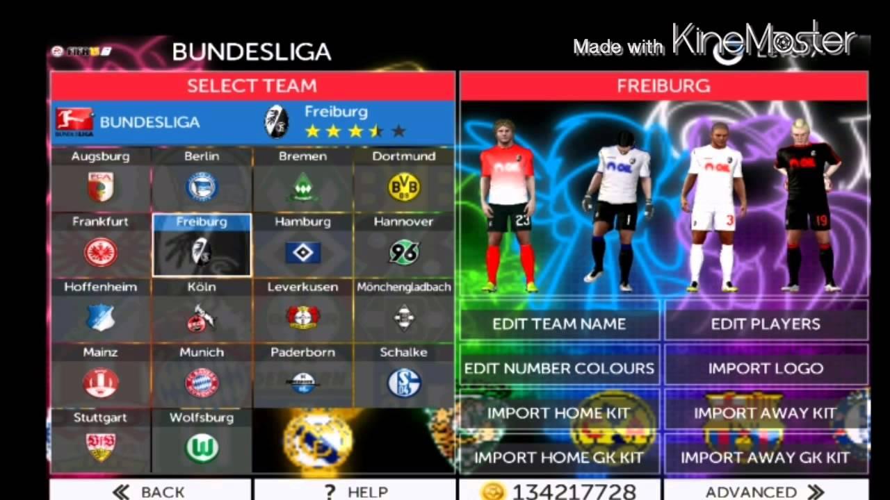 Bundesliga Fts Kits