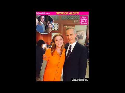 Revenge Emily VanCamp & Tom Amandes Stage 'Everwood' Reunion