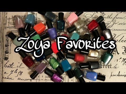 ZOYA Favorites and Swatches