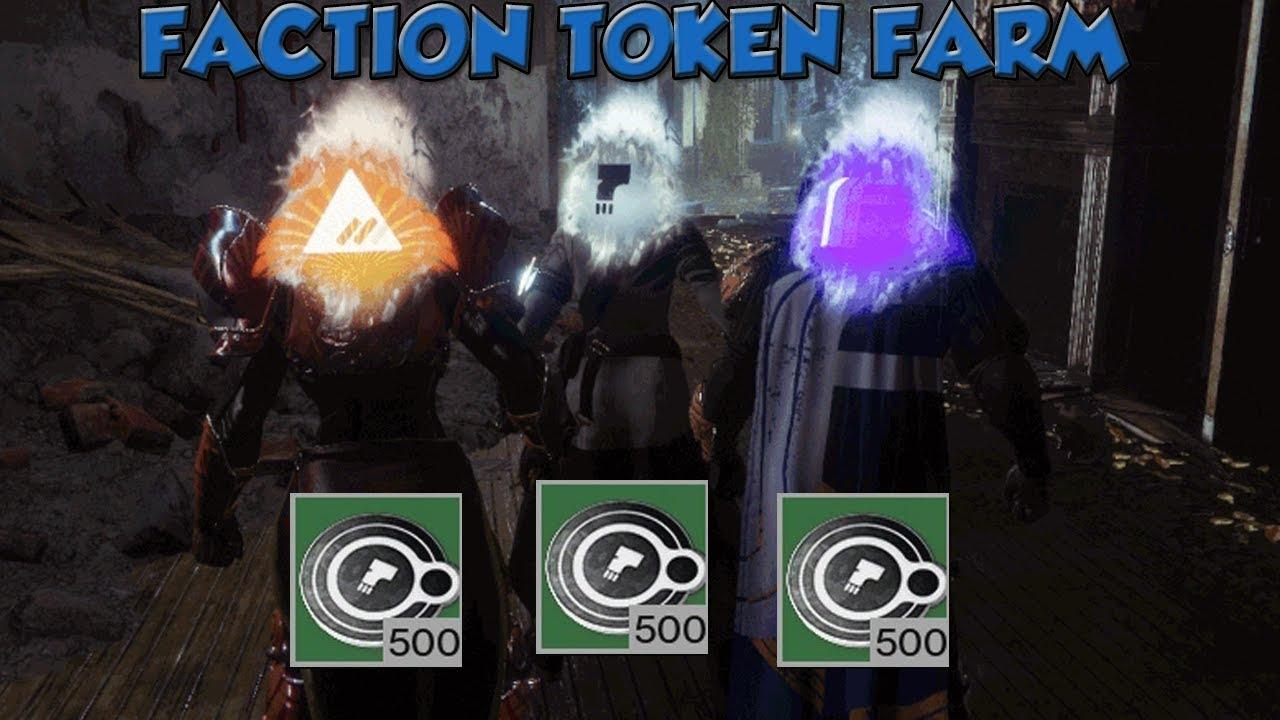 best way to farm faction tokens destiny 2 2019 Destiny 2: FASTEST FACTION TOKEN FARM ( Season 3 )   YouTube