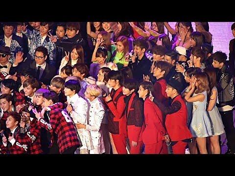 EXO 140221 SNSD mrmr Shinee B1A4 Apink Infinite Sistar 少女時代 소녀시대 샤이니 에이핑크 인피니트 씨스타 직캠 taeyeon breath