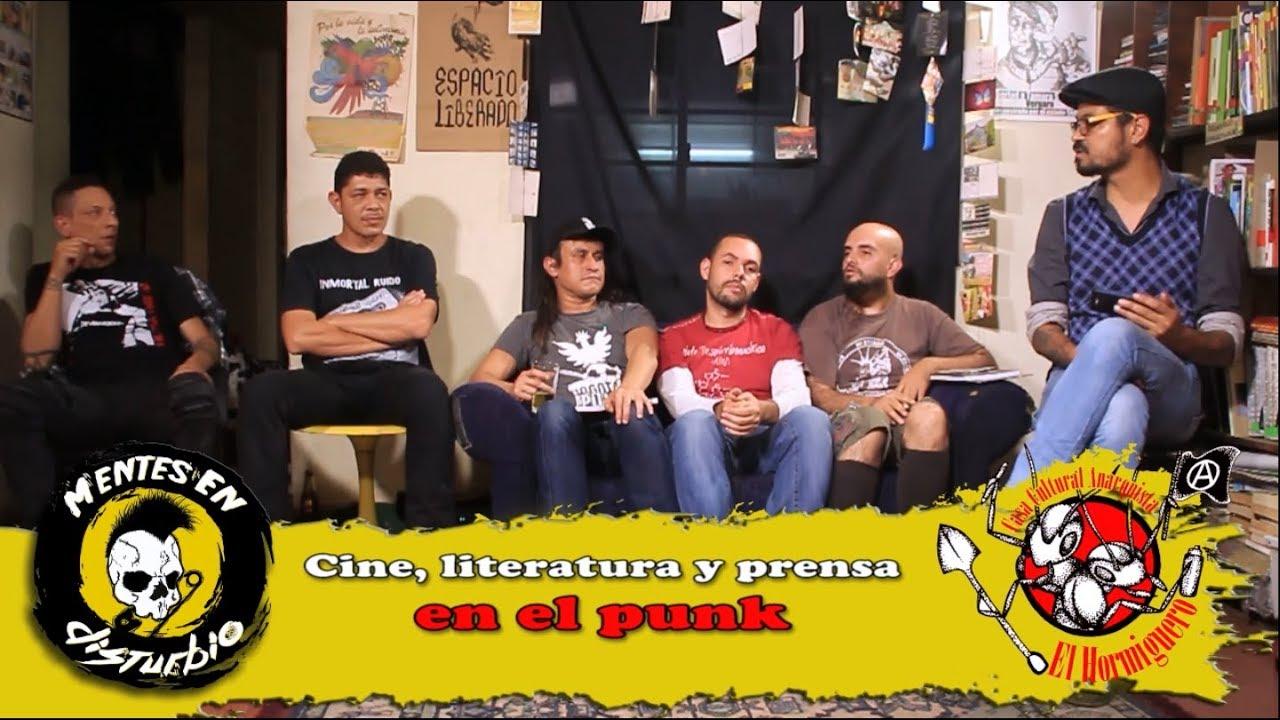 Especial: Conversatorio sobre Cine, literatura y prensa en el punk