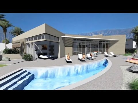 New Desert Modern Contemporary Home By Brian Foster