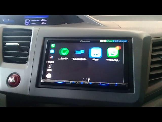 Apple Car Play sem fio com Waze - ArtsomAuto