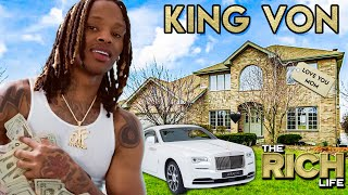 King Von | The Rich Life | Rolls Royce Wraith, House for Mom, Icebox O Block Chain & More