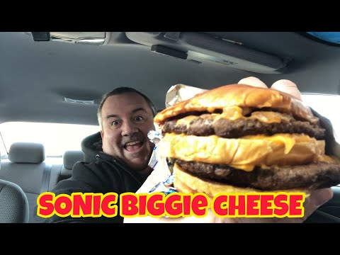 Sonic Biggie Cheese | Food Review
