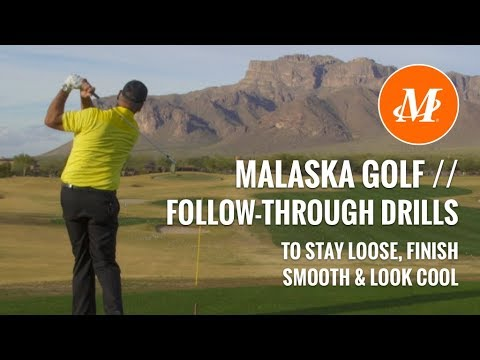 Malaska Golf Swing Drill To Keep Loose And Look Cool Finishing Your Golf Swing