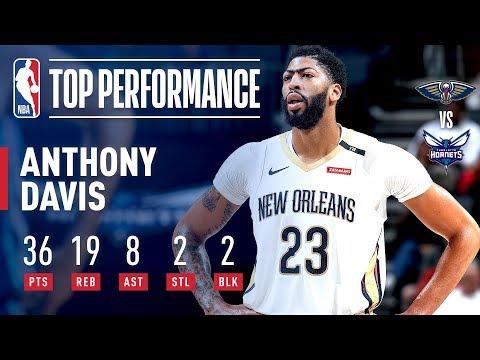 Anthony Davis' MONSTER Game in Charlotte 36/19/8 | December 2, 2018