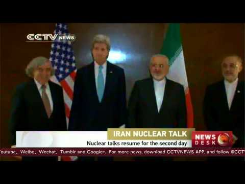 Iran nuclear talks resume for the second day