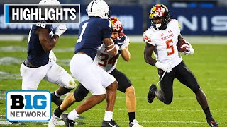 Highlights: Terps Put Up Their Most Points Ever Against PSU   Maryland At Penn State   Nov. 7, 2020