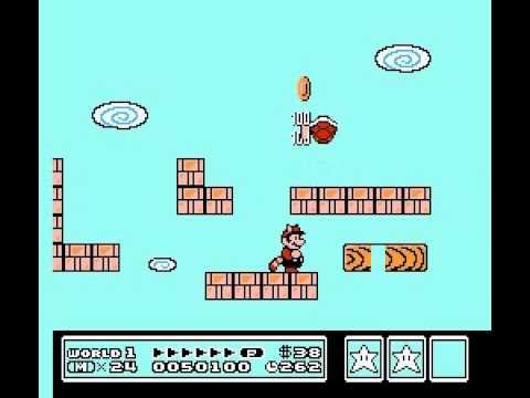 Super Mario Bros 3 Nintendo Nes Secret White Mushroom House
